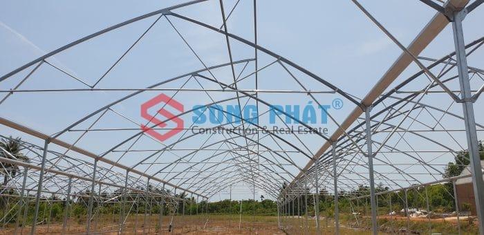Kinh nghiệm thi công nhà lưới, nhà màng nông nghiệp
