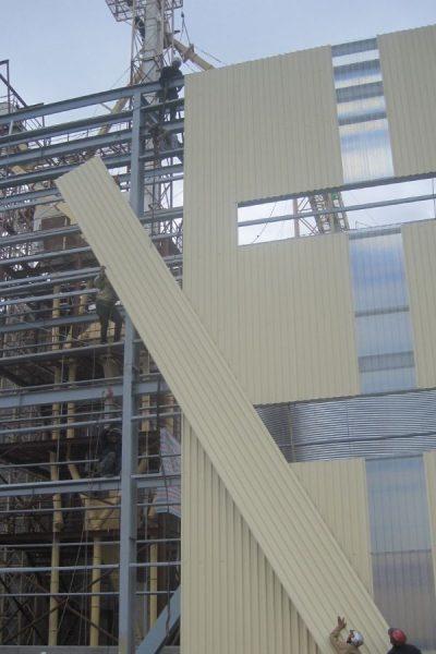 nhà thép tiền chế 2 tầng