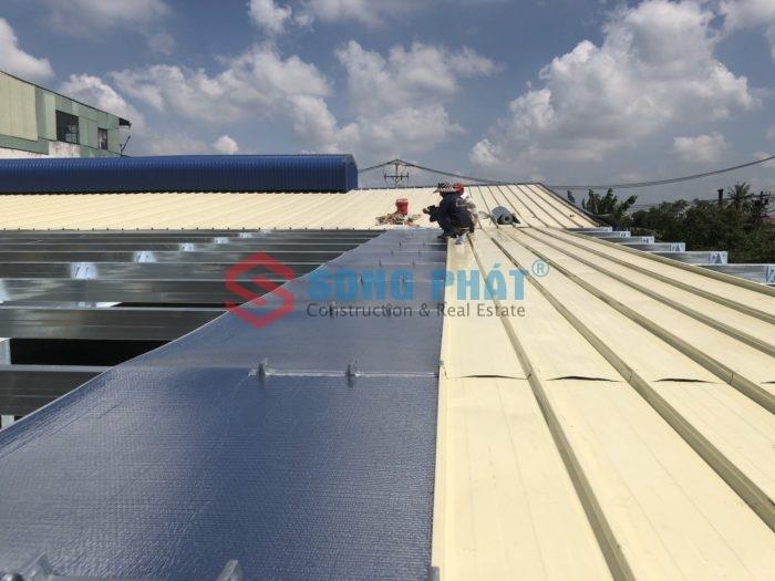 thi công nhà xưởng mái tôn