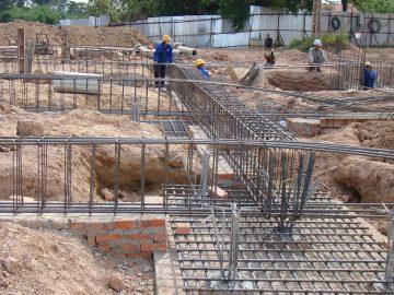 Biện pháp thi công móng dựng khung nhà thép tiền chế công trình xưởng