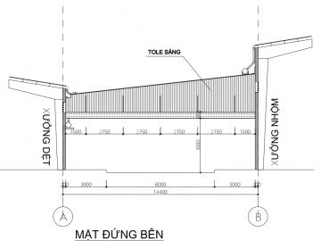 Dự án mở rộng và bảo trì xưởng Dệt Long An với chi phí 1,5 tỷ
