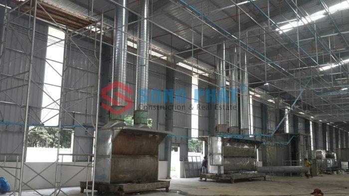 tiêu chuẩn thiết kế nhà xưởng công nghiệp