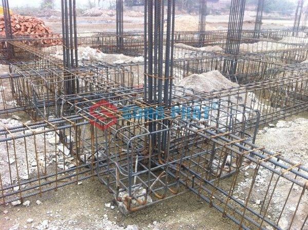 kết cấu móng cho nhà thép tiền chế