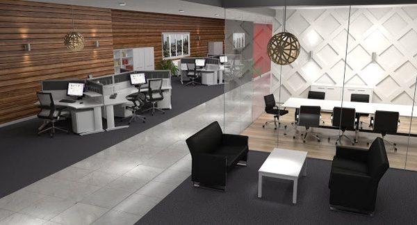 thiết kế văn phòng tiền chế