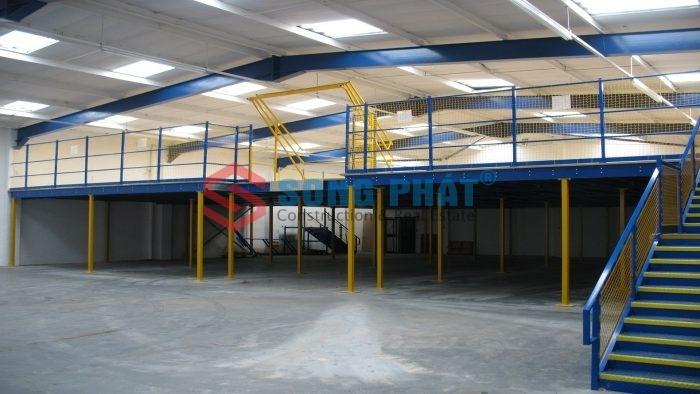thiết kế thi công nhà kho công nghiệp