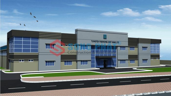 Chi phí xây dựng nhà xưởng công nghiệp năm 2020