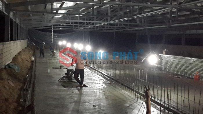cải tạo nâng nền nhà xưởng