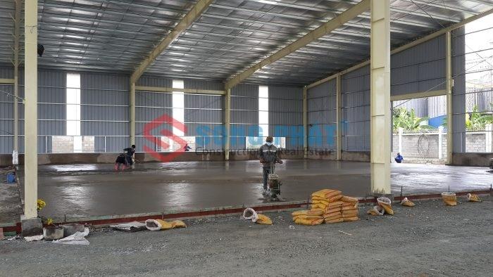 quy trình thiết kế dầm sàn nhà xưởng