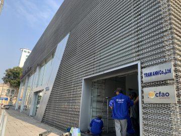 Thiết kế, thi công sửa chữa showroom xe hơi tại TP.HCM