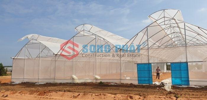 Thiết kế thi công nhà vòm nông nghiệp