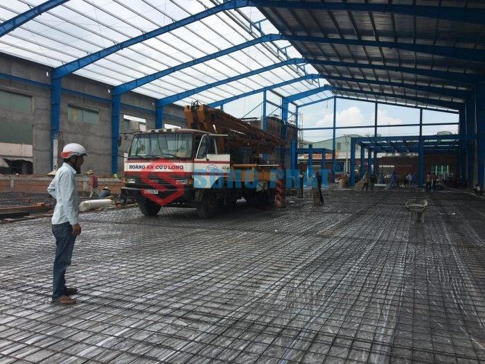 Báo giá nhân công xây dựng nhà xưởng