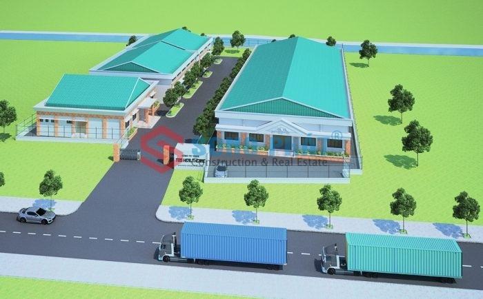 thiết kế nhà máy sản xuất vật tư y tế