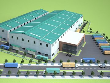 Dự án thiết kế xưởng đóng tàu biển diện tích 7000m2 tại Nhà Bè