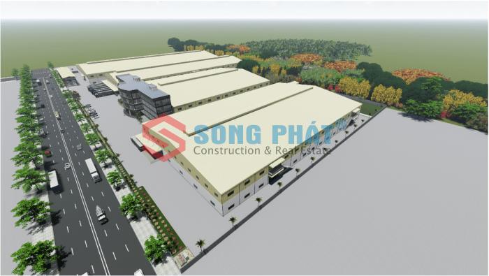 thiết kế nhà xưởng may công nghiệp
