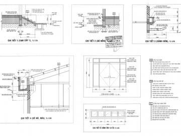 5 mẫu bản vẽ thiết kế nhà xưởng công nghiệp tiêu biểu