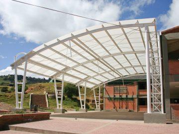 Canopy nhà xưởng -Các loại mái đón Canopy trong xây dựng công nghiệp