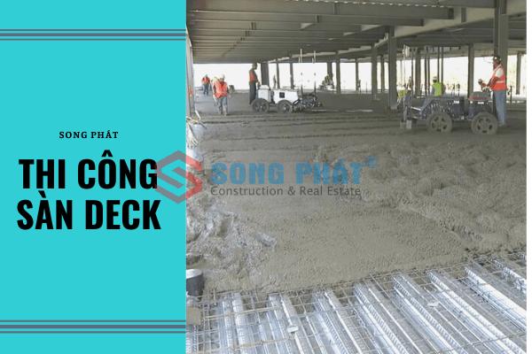 cấu tạo sàn deck