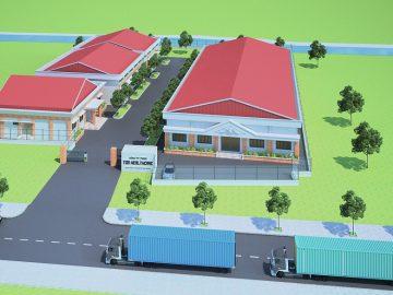 5 mẫu thiết kế nhà khung thép mái tôn phổ biến 2021