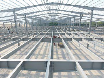 8 lưu ý quan trọng khi tính độ dốc mái tôn trong thiết kế xưởng