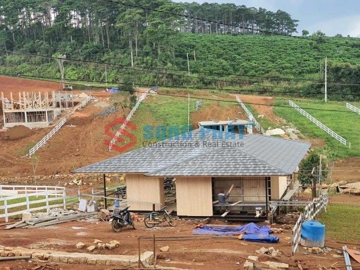 xây dựng homestay bằng khung thép